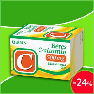 Béres C-vitamin 500 mg