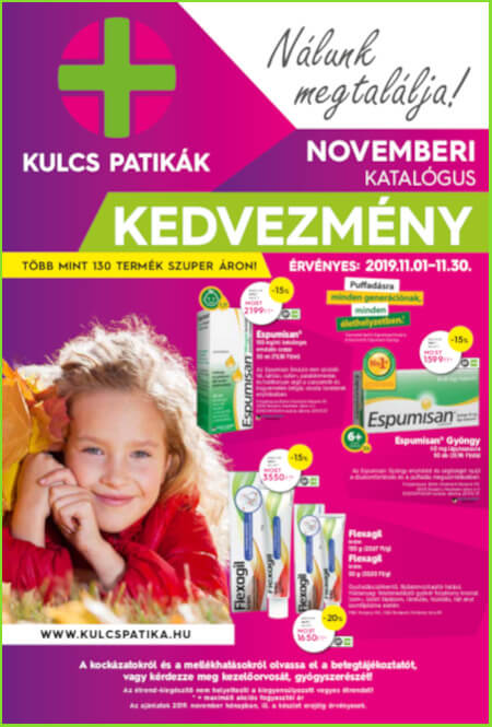 kulcs patika 2019 november - somlyopatika.hu